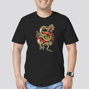Dragon Men's Fitted T-Shirt (dark)