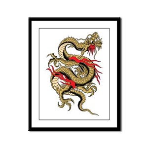 Dragon Framed Panel Print