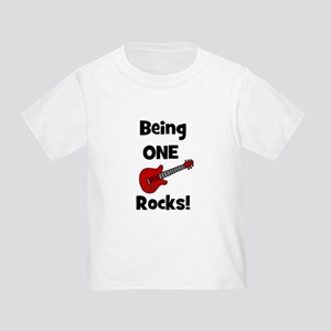 BRYCE Being One Rocks! Toddler T-Shirt