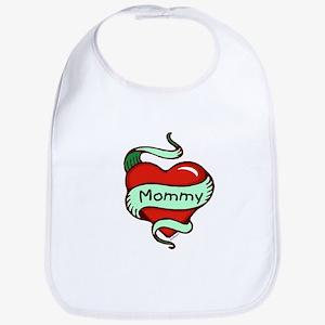 Mommy in Heart Bib