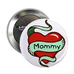 Mommy in Heart Button
