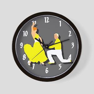 Dancing Wall Clock