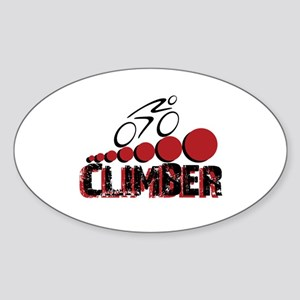Climber Sticker (Oval)