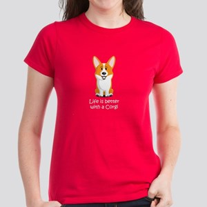 Pembroke Welsh Corgi Women's Dark T-Shirt