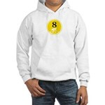 Eight Silhouette Hooded Sweatshirt