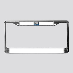 Full Speed Ahead License Plate Frame