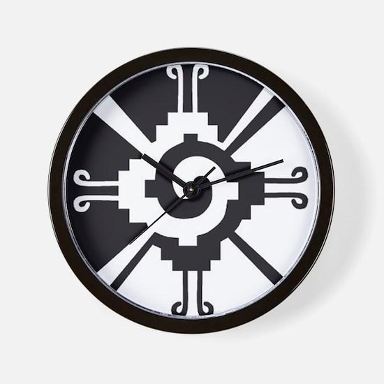 Mayan Unity Symbol Wall Clock