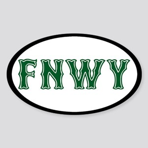 Fenway Sticker (Oval)