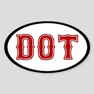 Dorchester Sticker (Oval)