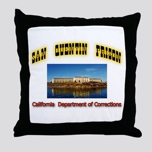 San Quentin Prison Throw Pillow