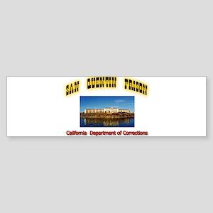 San Quentin Prison Sticker (Bumper)