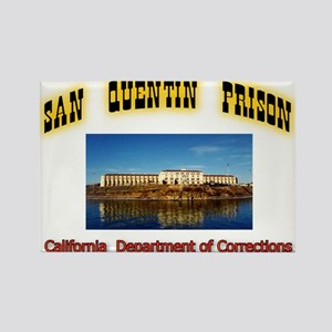 San Quentin Prison Rectangle Magnet