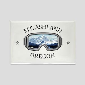 Mt. Ashland - Ashland - Oregon Magnets