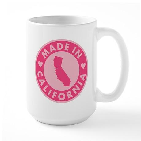 Made in California - Pink Large Mug