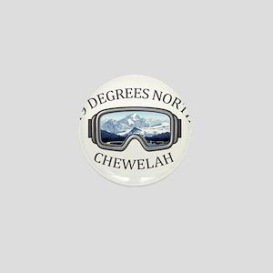 49 Degrees North Ski Area - Chewelah Mini Button