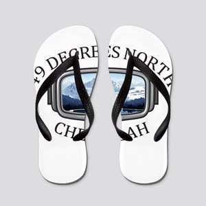 49 Degrees North Ski Area - Chewelah Flip Flops