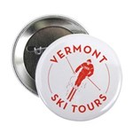 "Vermont Ski Tours - Logo 2.25"" Button"