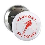 """Vermont Ski Tours - Logo 2.25"""" Button"""