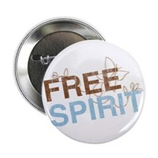 Free Spirit Button