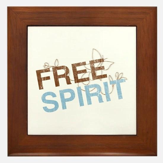 Free Spirit Framed Tile
