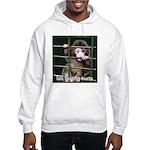 Lab Testing Hurts Hooded Sweatshirt