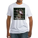 Lab Testing Hurts Fitted T-Shirt