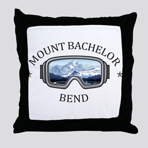 Mount Bachelor - Bend - Oregon Throw Pillow