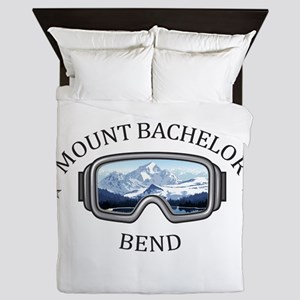 Mount Bachelor - Bend - Oregon Queen Duvet