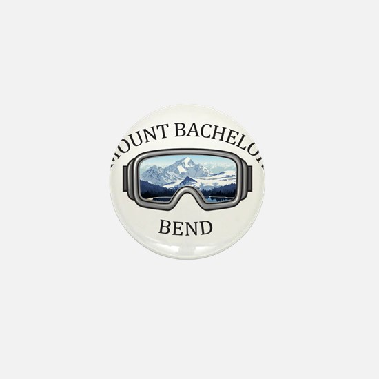 Mount Bachelor - Bend - Oregon Mini Button