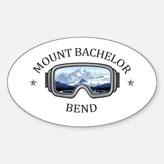 Mount Bachelor - Bend - Oregon Bumper Stickers