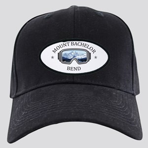 Mount Bachelor - Bend - Ore Black Cap with Patch