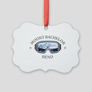 Mount Bachelor - Bend - Oregon Picture Ornament
