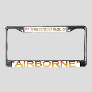 7th Transportation Bn License Plate Frame