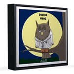 Doctor Whoo 12x12 Canvas Print