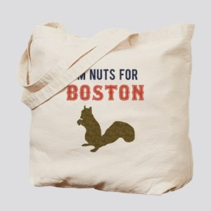 I'm Nuts for Boston Tote Bag