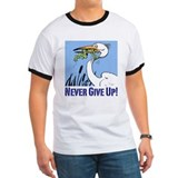 Never give up Ringer T