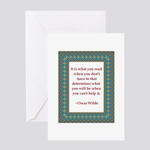 What You Read Greeting Card