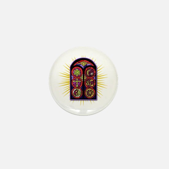LOST Stained Glass Mini Button