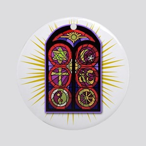 LOST Stained Glass Ornament (Round)