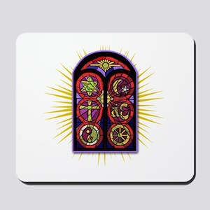 LOST Stained Glass Mousepad