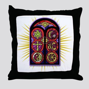 LOST Stained Glass Throw Pillow