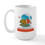 California Republic Large Mug