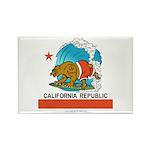California Republic Rectangle Magnet (100 pack)