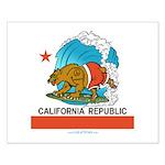 California Republic Small Poster