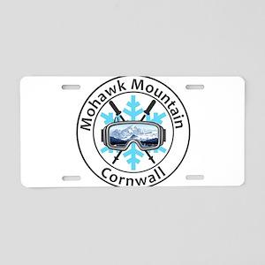 Mohawk Mountain Ski Area - Aluminum License Plate