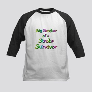 Big Brother to a Stroke Survi Kids Baseball Jersey