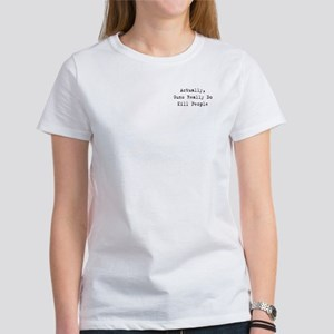 Guns Kill People Women's T-Shirt