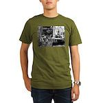 Kibble at Tiffany's Organic Men's T-Shirt (dark)