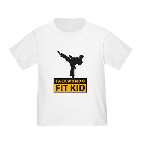 Tae Kwon Do Fit Kid Toddler T-Shirt