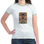 African Mysticism Jr. Ringer T-Shirt